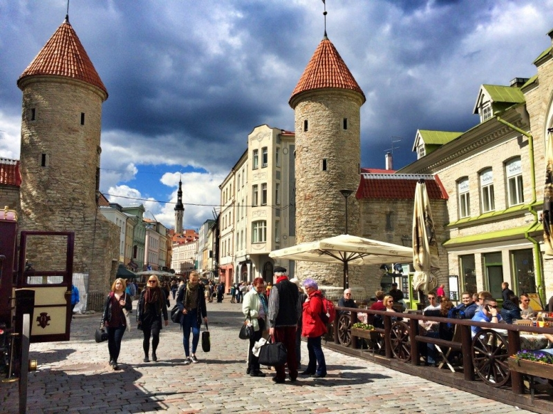 The beautiful city of Tallinn Estonia, A Travellers' Guide