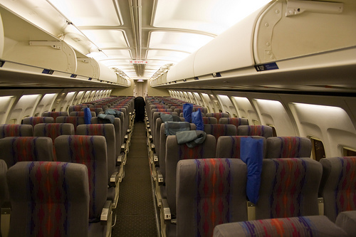 Tired Old Cabins of Full-Service Airliners