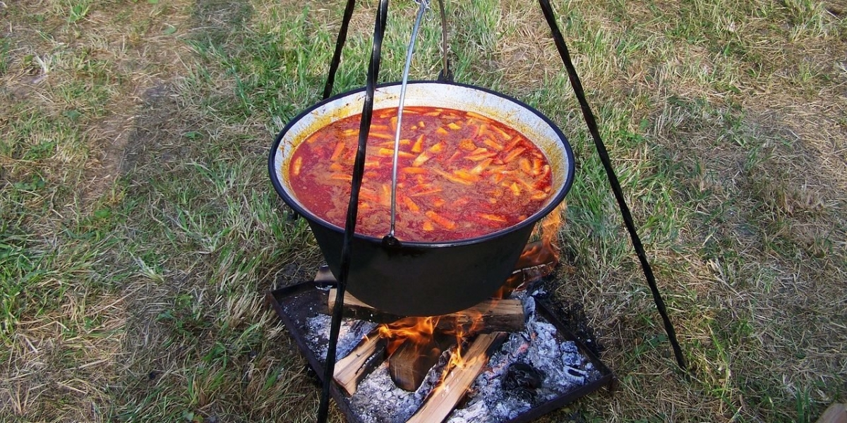 Hungarian Open Fire Cauldron Cooking